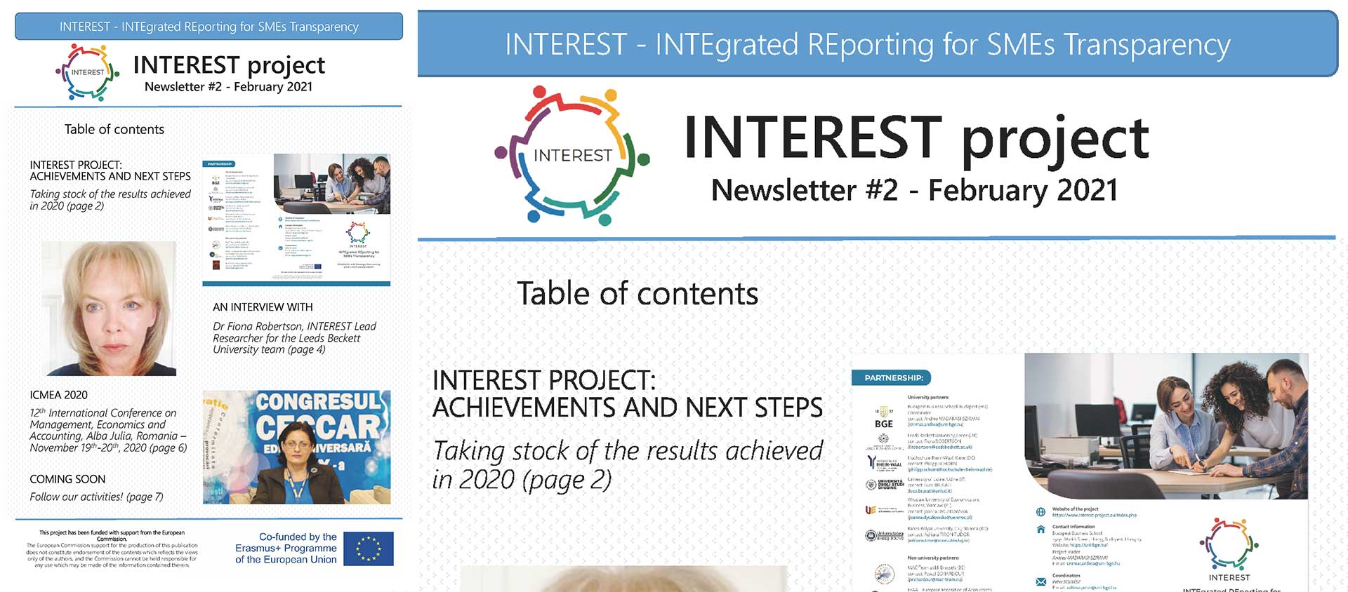 INTEREST Newsletter 02 - Feb 2021