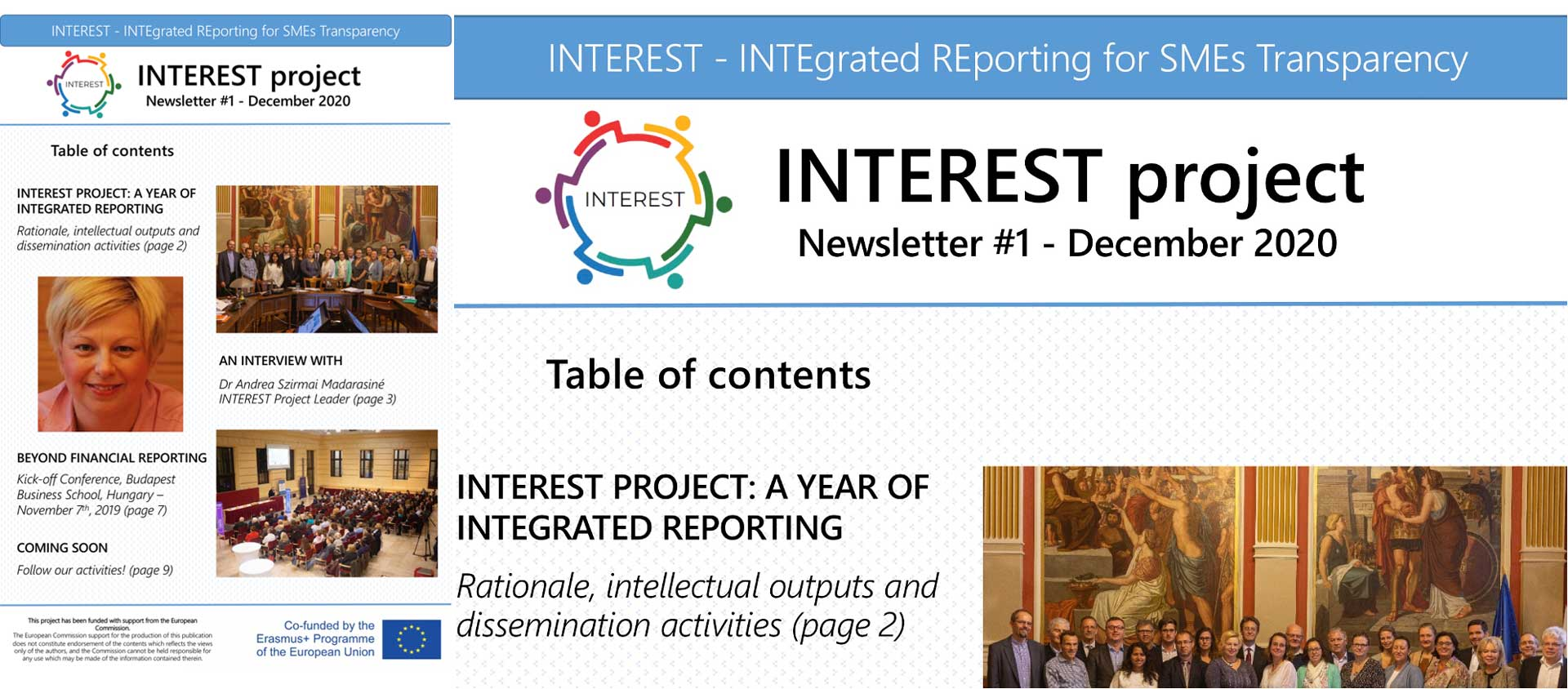 INTEREST Newsletter 01 - Dec 2020